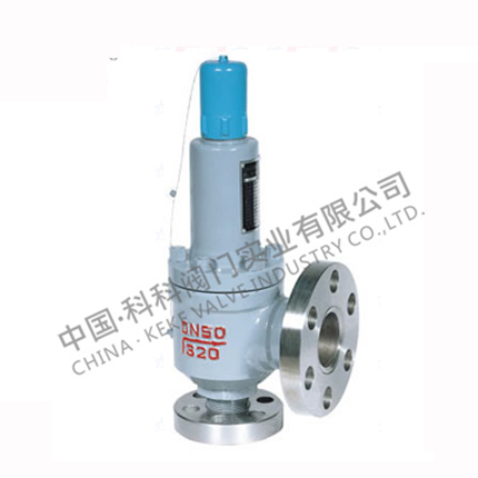 Spring full open closed high pressure safety valve