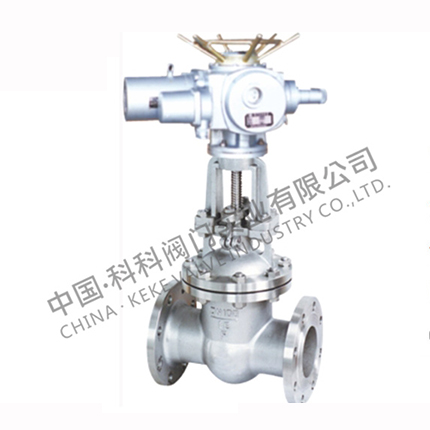 Z941 electric stainless steel gate valve